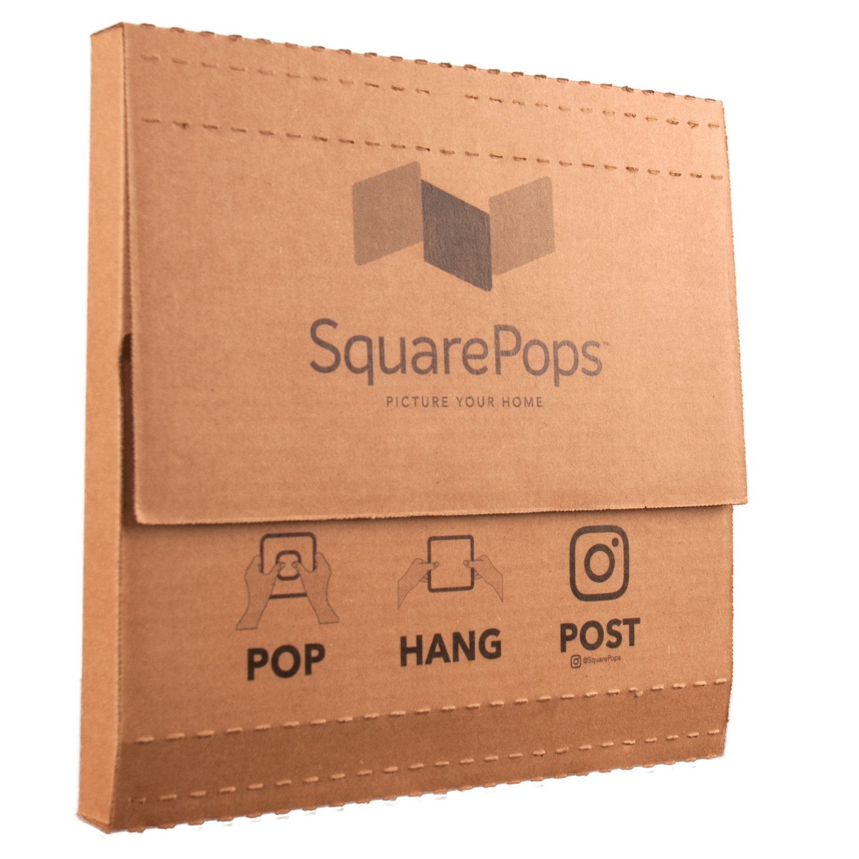 SquarePop - High Gloss Metal Print
